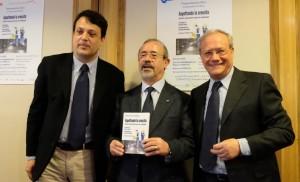 Antonello Di Mario, ufficio stampa Uilm nazionale - Carmelo Barbagallo, Segretario generale UIL - Antonio Apa, Segretario generale UILM Genova